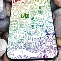 5SOS quotes for iPhone 4/4s/5/5S/5C/6, Samsung S3/S4/S5 Unique Case *95*
