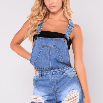 Got Trophies Overalls - Blue