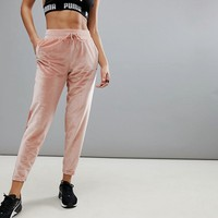 Puma Velvet Yoga Pants In Pink at asos.com