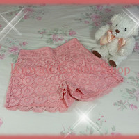 Liz Lisa Knit Lace Shorts (NwoT)