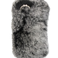 SO FURRY GREY IPHONE CASE