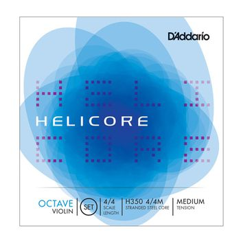 Helicore Octave Violin String Set 4/4 Size Medium