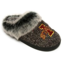 Iowa State Cyclones Women's Sequin Slippers