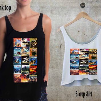 Harry Potter collage fun For Woman Tank Top , Man Tank Top / Crop Shirt, Sexy Shirt,Cropped Shirt,Crop Tshirt Women,Crop Shirt Women S, M, L, XL, 2XL**