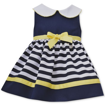 Bonnie Jean Baby Girls' Striped Dress