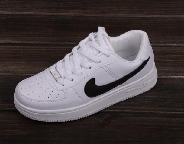 ... quite nice 9e35d f42a5 NIKE Women Men Running Sport Casual Shoes  Sneakers Air force White ... 6f325c6bd