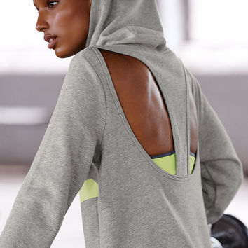 Cut-out Graphic Hoodie - Victoria's Secret Sport - Victoria's Secret
