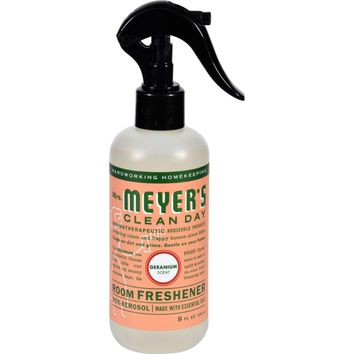 Mrs. Meyer's Clean Day Room Freshener Geranium - 8 fl oz