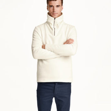 H&M Chimney-collar Sweatshirt $29.99
