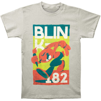 Blink 182 Men's  Vintage Rabbit T-shirt Grey