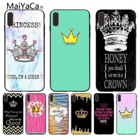 Cool MaiYaCa Queen crown king Pattern tpu Soft Phone Accessories Cover Case for iPhone X 6 6S 7 7plus 8 8Plus 5 5SAT_93_12