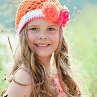 Crochet Pattern for Ainsley Hat - 8 sizes, newborn to large adult - Welcome to sell finished items