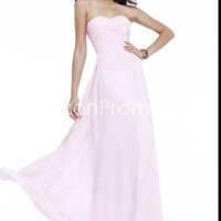 US $99.99 2014 Sweetheart Long Chiffon Prom Dresses