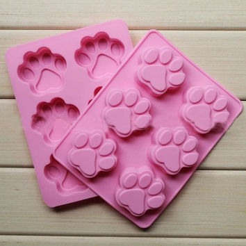 DIY Silicone Catlike Mold Candy Chocolate Cake Cookie Cupcake Soap Mould = 5658085185
