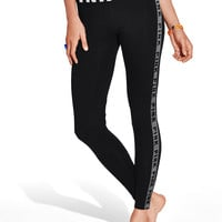 Logo Stripe Yoga Leggings - PINK - Victoria's Secret
