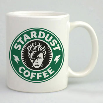 David Bowie (Ziggy Stardust) inspired Mug, Tea Mug, Coffee Mug