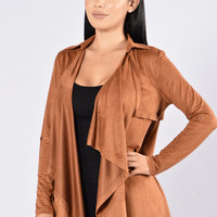 Out of the Wild Jacket - Cognac