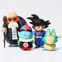 Dragon Ball Pilaf-Puar-Son Goku-Master Roshi Action Figures (4pcs set)