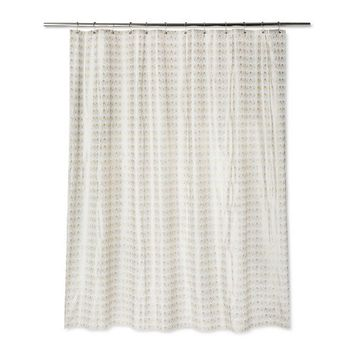 Fans Shower Curtain Gold Fusion - Room Essentials™
