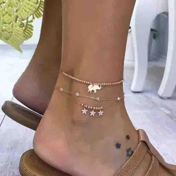 Fashion Women Retro Delicate Anklets Sexy Personalized Gift Jewelry