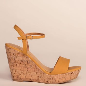 Alora Wedges - Honey