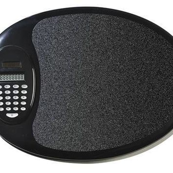 Free Engraving Personalized Mouse Pad with Calculator Black or White