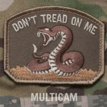 Dont Tread On Me multicam velcro  MILITARY PATCH