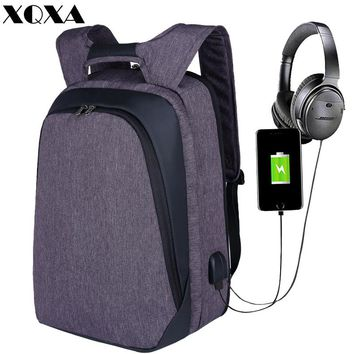 XQXA Anti Theft Water-resistant Backpack