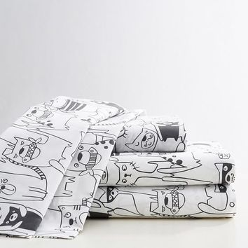 Cat's Meow Sheet Set