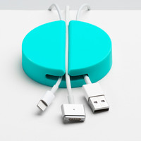 Aqua Jumbo Cable Catch | Cable Organizers | Poppin