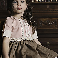 Persnickety Maggie Dress for Girls PREORDER