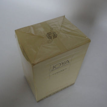 Vintage: Joya Myrurgia Cologne Spain, 3 1/4 oz, still wrapped in box, 105ml