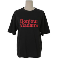 French Greeting Print T-Shirt