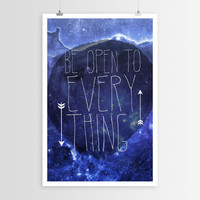 Sara Eshak's Be Open To Everything POSTER