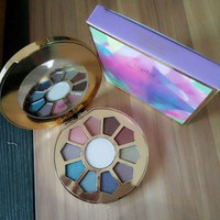 New spot tarte11 color eye shadow 11 color gossip eye shadow plate [11604436239]