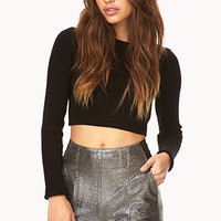 Super Glam High-Waisted Shorts