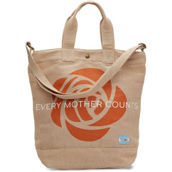 EVERY MOTHER COUNTS COMPASS TOTE