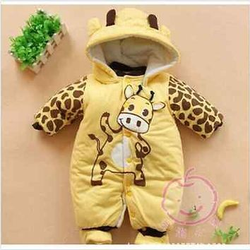 New Newborn Baby Clothes Sets Girl Boy clothes Romper Winter Outwear Outfits