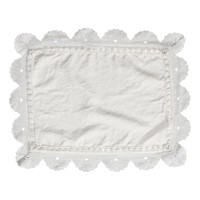 H&M - Linen Placemat - Light gray
