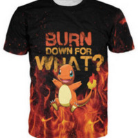 New Summer style tshirt  Pokemon  dinosaurs Cartoon 3d t shirt men/women Tops Outdoor  t shirt
