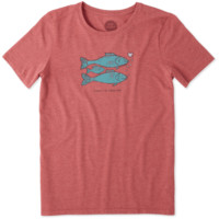 Women's Family Forever Fish Cool Tee
