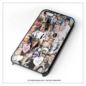 Niall Horan Collage One Direction iPhone 4 4S 5 5S 5C 6 6 Plus , iPod 4 5 , Samsung Galaxy S3 S4 S5 Note 3 Note 4 , HTC One X M7 M8 Case