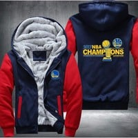 Golden State Champions Fleece Jacket - LIMITED EDITION