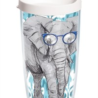Funky Animals Collection – Elephant with Frames - Wrap with Lid | 16oz Tumbler | Tervis®