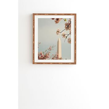 Catherine McDonald Spring In DC 1 Framed Wall Art
