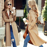 Autumn Winter Women Leather Velvet Slim Outerwear Jacket Windbreaker a13025