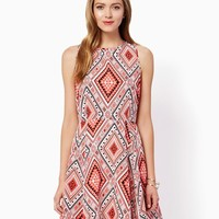 Groovy Fit and Flare| Fashion Apparel and Clothing - Dresses | charming charlie