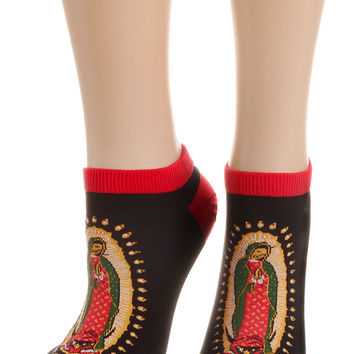 Our Lady of Guadalupe Divine Shortie Socks