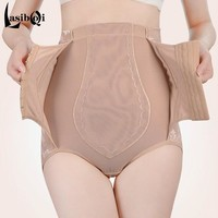 Women's fashion sexy abdomen drawing butt-lifting strengthen panties female thin stovepipe beauty care postpartum body shaping