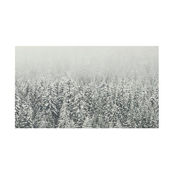 Snow Forest Rug, Nature Rug, Winter Photo, Landscape Photography,  Area Rugs, Photo Art, Printed  Rugs, Cool Carpet, Nordic Decor, 3x5, 4x6